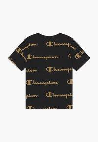Champion - LEGACY AMERICAN CLASSICS CREWNECK - T-shirt z nadrukiem - black - 1