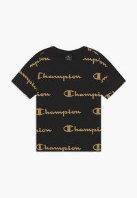 Champion - LEGACY AMERICAN CLASSICS CREWNECK - T-shirt z nadrukiem - black - 0