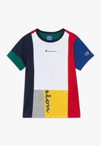 Champion - ROCHESTER TEAM STRIPES CREWNECK - Print T-shirt - multicoloured - 0