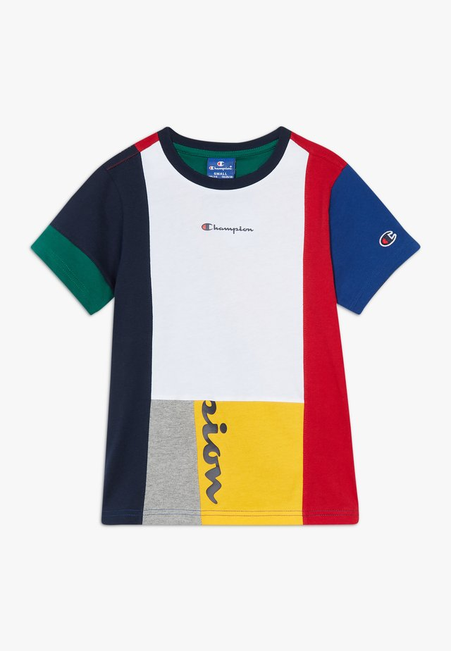 ROCHESTER TEAM STRIPES CREWNECK - T-shirt z nadrukiem - multicoloured