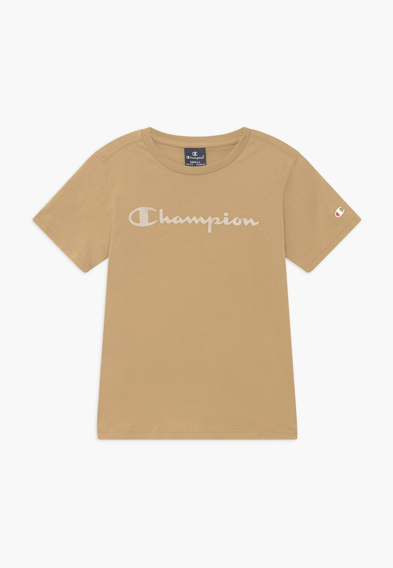Champion - LEGACY AMERICAN CLASSICS - Print T-shirt - sand