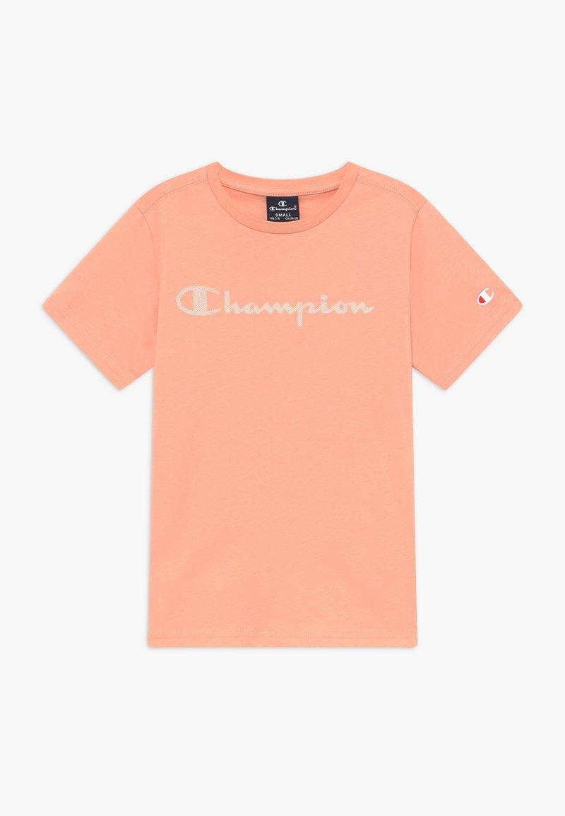 Champion - LEGACY AMERICAN CLASSICS - T-shirt z nadrukiem - light pink