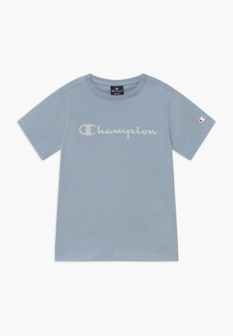 Champion - LEGACY AMERICAN CLASSICS - Print T-shirt - light blue
