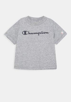 LEGACY AMERICAN CLASSICS CREWNECK CROPTOP - Camiseta estampada - mottled grey