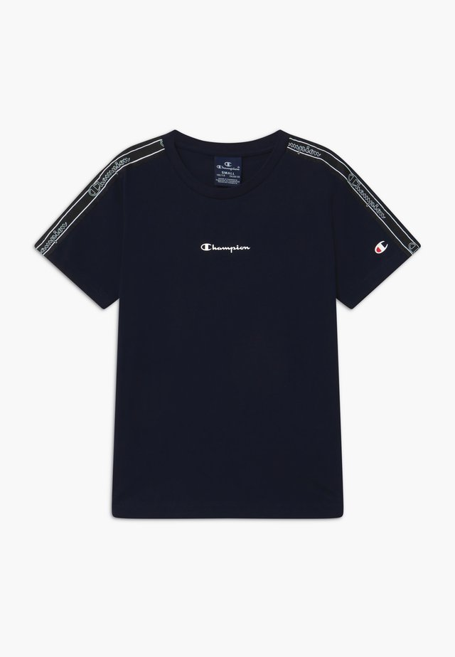 LEGACY AMERICAN TAPE CREWNECK - Print T-shirt - dark blue