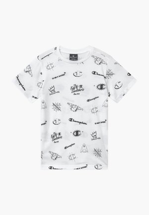 LEGACY AMERICAN CLASSICS CREWNECK - T-shirt z nadrukiem - white