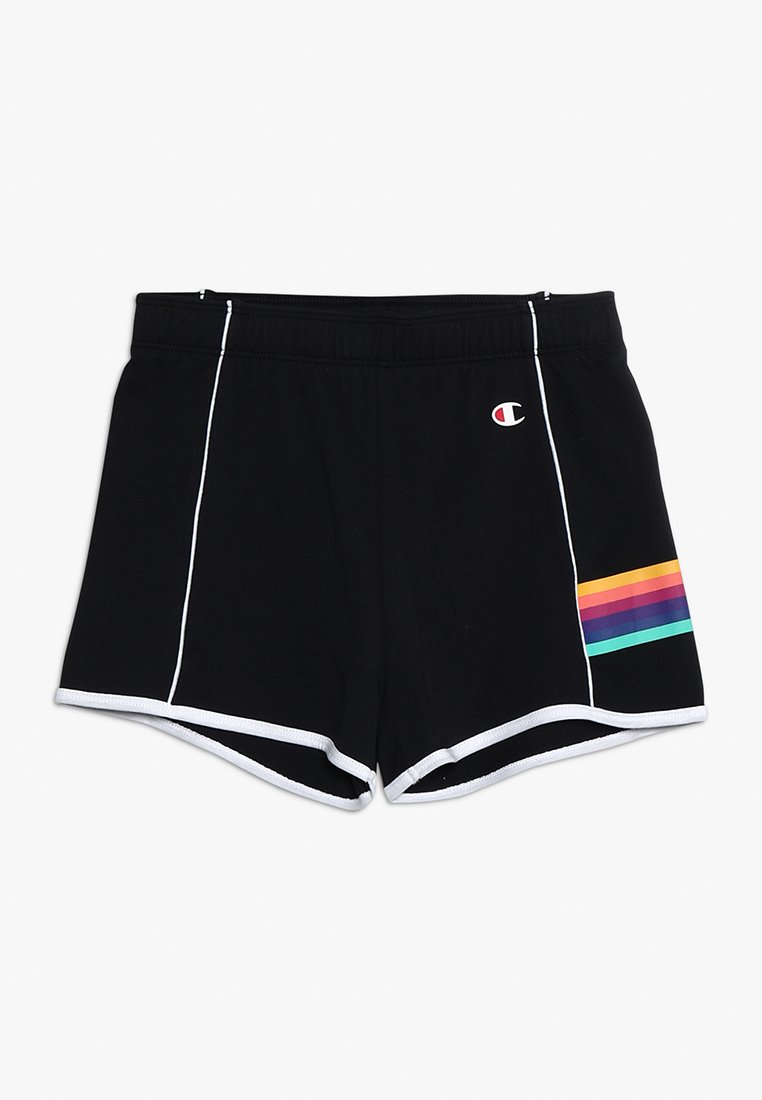 Champion - RAINBOW GIRL SHORTS - Sports shorts - black