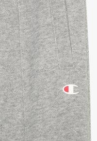 Champion - AMERICAN CLASSICS STRAIGHT HEM PANTS - Teplákové kalhoty - mottled grey - 4