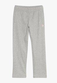 Champion - AMERICAN CLASSICS STRAIGHT HEM PANTS - Pantaloni sportivi - mottled grey - 0