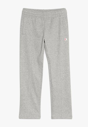 AMERICAN CLASSICS STRAIGHT HEM PANTS - Tracksuit bottoms - mottled grey