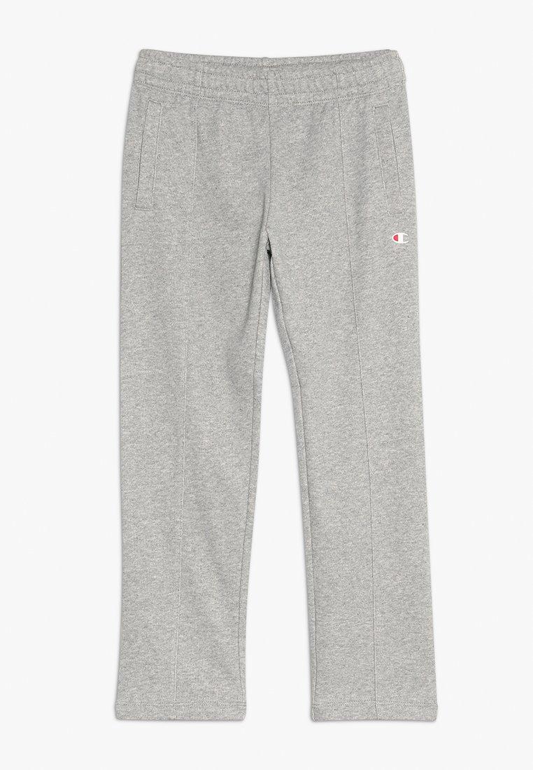 Champion - AMERICAN CLASSICS STRAIGHT HEM PANTS - Teplákové kalhoty - mottled grey