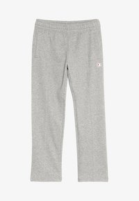 Champion - AMERICAN CLASSICS STRAIGHT HEM PANTS - Teplákové kalhoty - mottled grey - 3