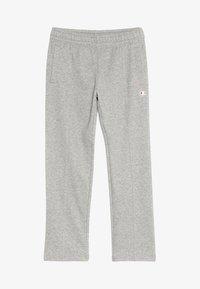Champion - AMERICAN CLASSICS STRAIGHT HEM PANTS - Pantaloni sportivi - mottled grey - 3