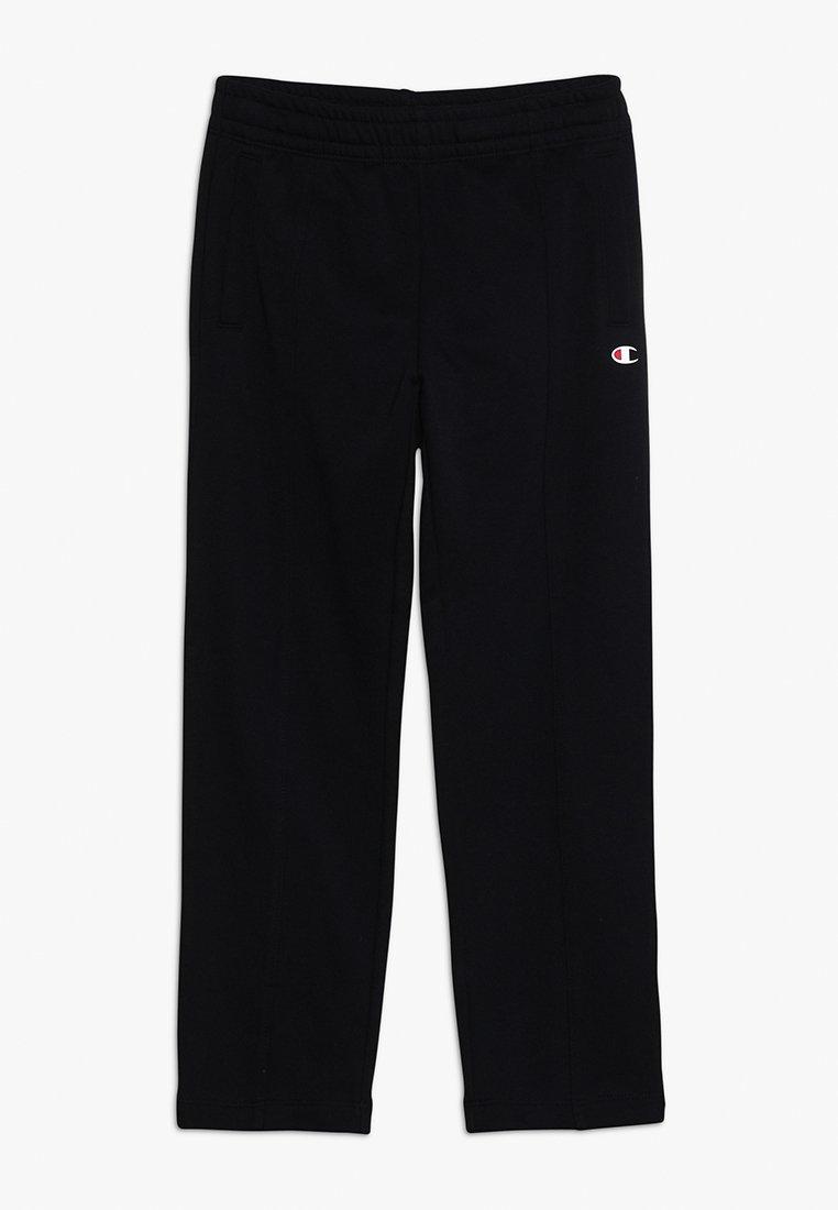 Champion - AMERICAN CLASSICS STRAIGHT HEM PANTS - Verryttelyhousut - black