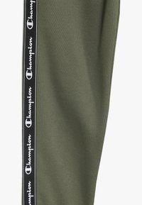 Champion - AMERICAN CLASSICS PIPING CUFF PANTS - Träningsbyxor - khaki - 3