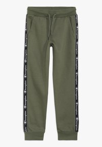 Champion - AMERICAN CLASSICS PIPING CUFF PANTS - Spodnie treningowe - khaki - 0