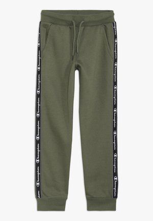 AMERICAN CLASSICS PIPING CUFF PANTS - Jogginghose - khaki