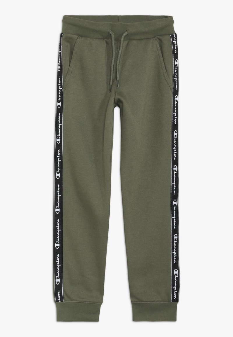 Champion - AMERICAN CLASSICS PIPING CUFF PANTS - Pantalon de survêtement - khaki