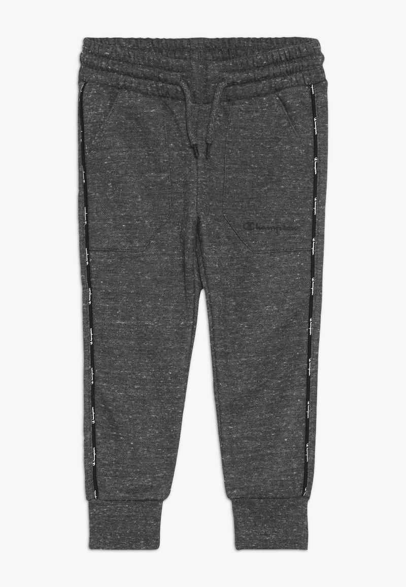 Champion - AMERICAN CLASSICS MAXI LOGO SLIM - Spodnie treningowe - mottled dark grey
