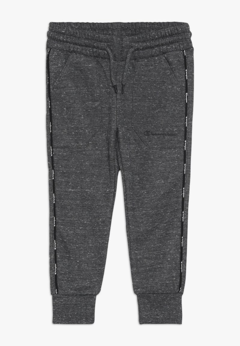 Champion - AMERICAN CLASSICS MAXI LOGO SLIM - Tracksuit bottoms - mottled dark grey