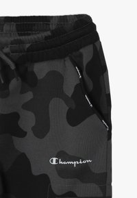 Champion - AMERICAN CLASSICS MAXI LOGO CUFF CARGO PANT - Træningsbukser - dark grey/black - 4
