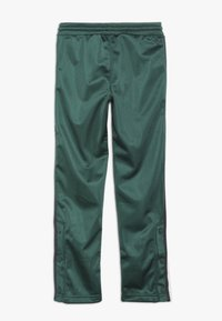 Champion - ROCHESTER VARSITY HALF BUTTON PANT - Tracksuit bottoms - dark green - 1