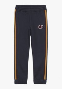 Champion - ROCHESTER VARSITY ELASTIC CUFF PANTS - Pantalon de survêtement - blue - 0