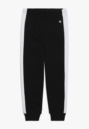 BASIC BLOCK CUFF PANTS - Jogginghose - black