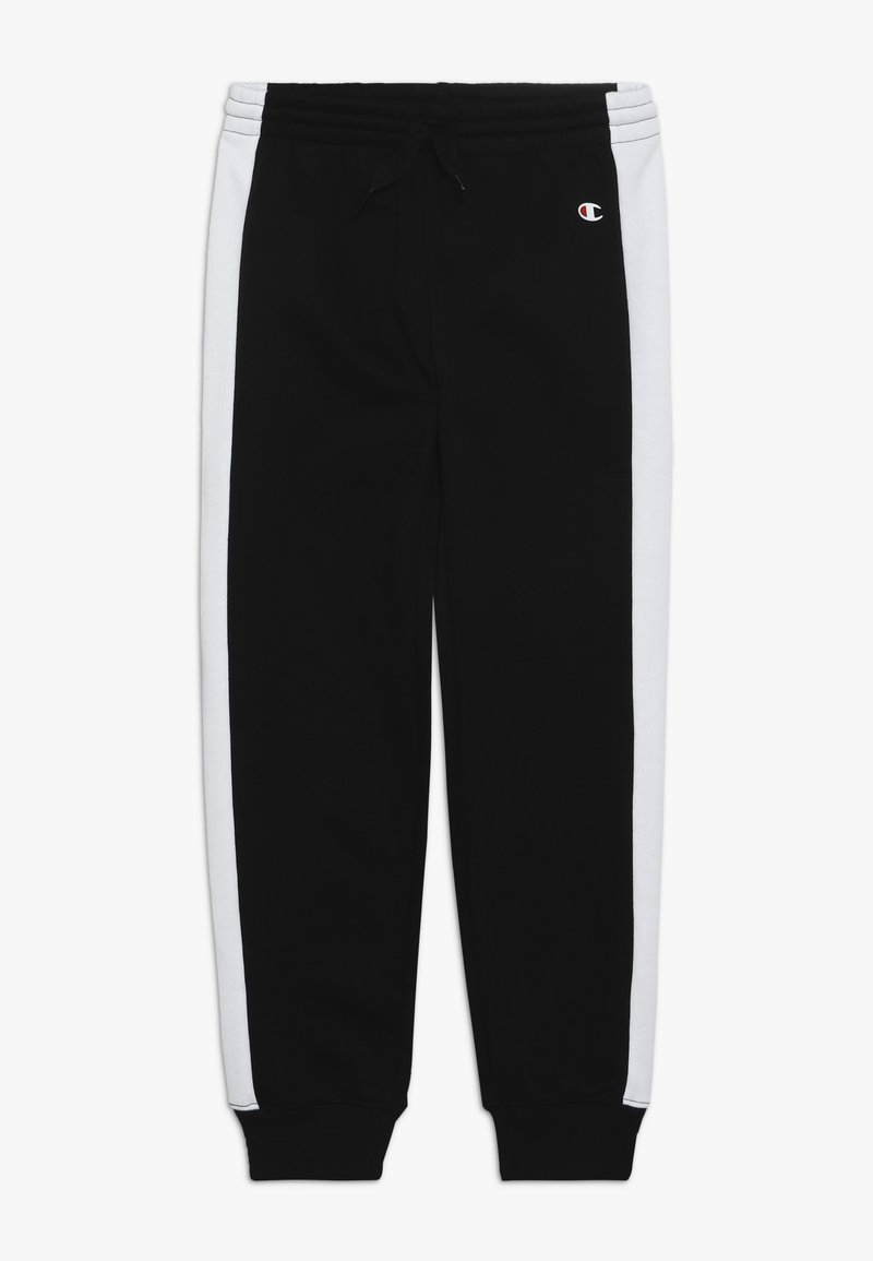 Champion - BASIC BLOCK CUFF PANTS - Pantalones deportivos - black