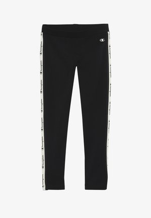 TAPE LEGGING - Punčochy - black