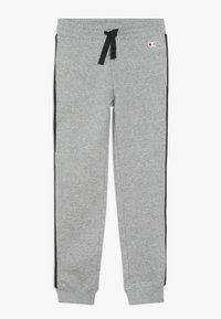 Champion - BRAND REVOLUTION PANTS - Träningsbyxor - mottled grey - 0