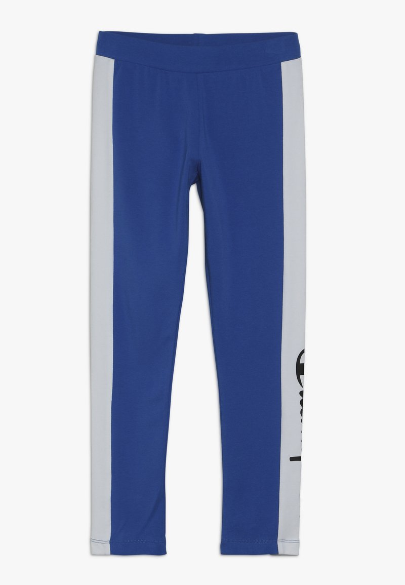 Champion - CHAMPION X ZALANDO COLORBLOCK LOGO  - Leggings - blue/white