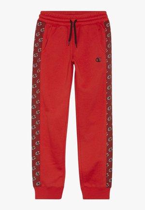 CHAMPION X ZALANDO PANT - Spodnie treningowe - red/white