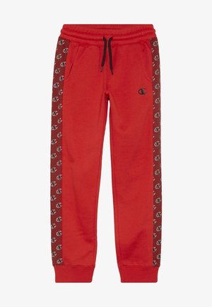 CHAMPION X ZALANDO PANT - Trainingsbroek - red/white