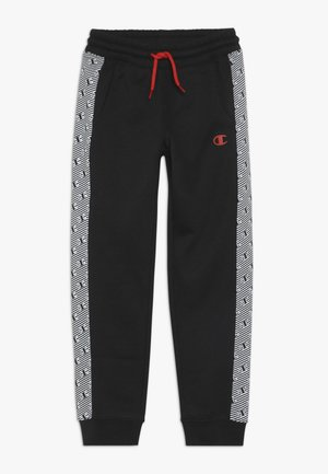 CHAMPION X ZALANDO PANT - Tracksuit bottoms - black/white
