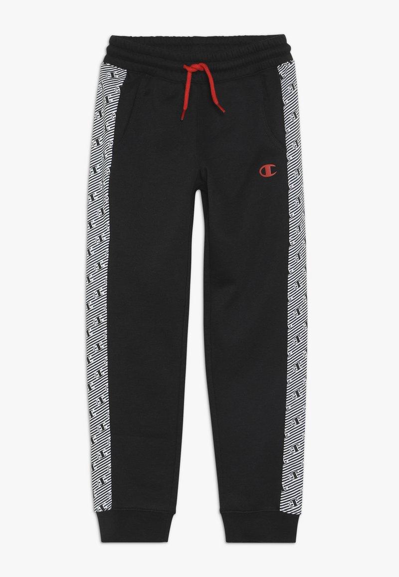 Champion - CHAMPION X ZALANDO PANT - Pantalon de survêtement - black/white