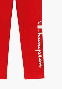Champion - LEGACY AMERICAN CLASSICS LEGGINGS - Punčochy - red - 3