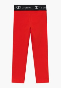 Champion - LEGACY AMERICAN CLASSICS LEGGINGS - Legging - red - 1