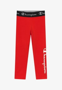 Champion - LEGACY AMERICAN CLASSICS LEGGINGS - Legging - red - 2