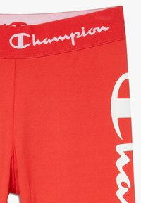 Champion - PERFORMANCE - Leggings - red/dark blue - 3