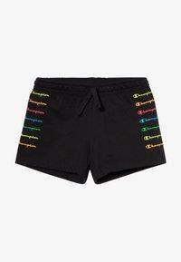 Champion - LEGACY AMERICAN CLASSICS FLUO  - Pantalón corto de deporte - black - 2