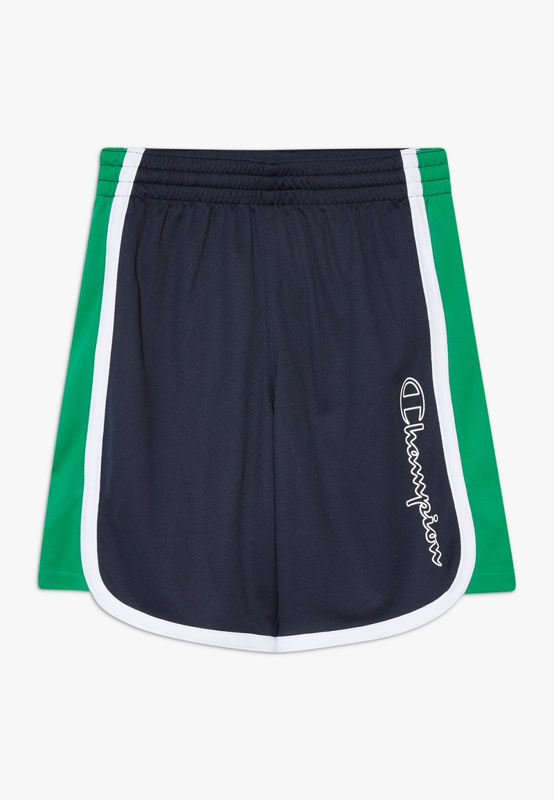 Champion - PERFORMANCE - Krótkie spodenki sportowe - dark blue/green/white