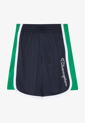 PERFORMANCE - Sports shorts - dark blue/green/white