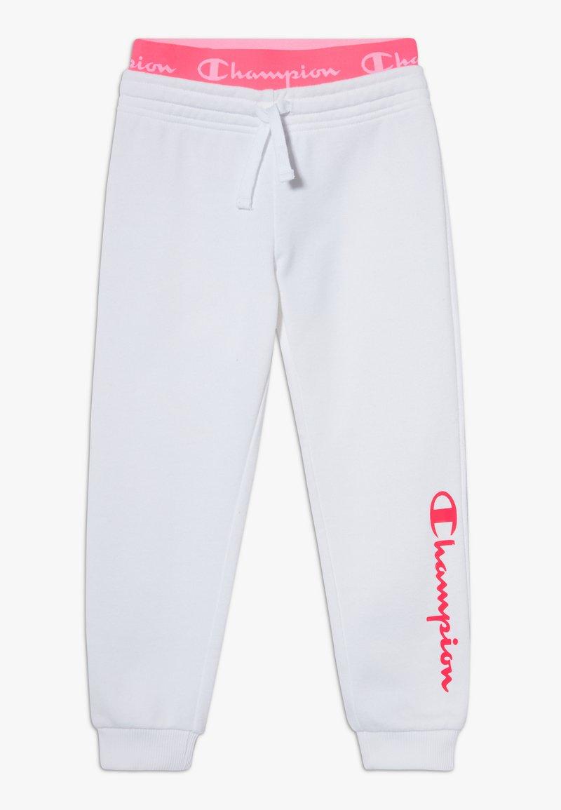 Champion - LEGACY AMERICAN CLASSICS FLUO RIB CUFF  - Trainingsbroek - white