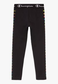 Champion - LEGACY AMERICAN CLASSICS FLUO - Tracksuit bottoms - black - 1