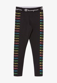 Champion - LEGACY AMERICAN CLASSICS FLUO - Tracksuit bottoms - black - 2