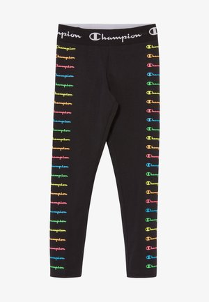 LEGACY AMERICAN CLASSICS FLUO - Tracksuit bottoms - black