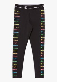 Champion - LEGACY AMERICAN CLASSICS FLUO - Tracksuit bottoms - black - 0