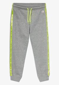 Champion - LEGACY LIGHT UP CUFF LOGO  - Pantalones deportivos - mottled grey - 0