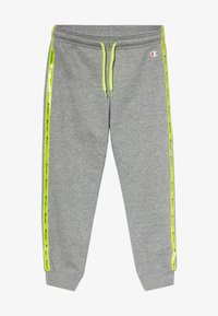 Champion - LEGACY LIGHT UP CUFF LOGO  - Pantalones deportivos - mottled grey - 2